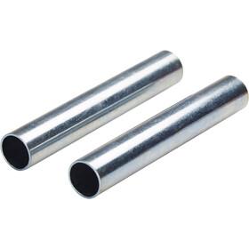 CAMPZ Embouts pour arceaux en fibre de verre 11 mm Kit de 2, silver